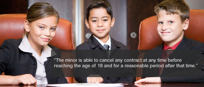 Entering Into A Contract With A Minor In The Uk