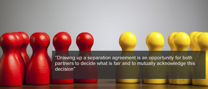 Why And When To Use A Separation Agreement
