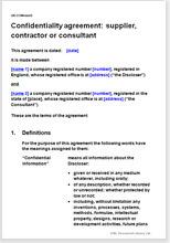 Non Disclosure Agreement Nda Protect Confidential