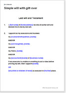 Make Your Own Will Download Templates Or Create Online - Make a will for free template